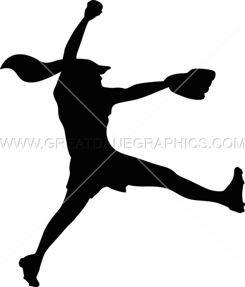 Fire clipart softball. Fastpitch pitcher production ready