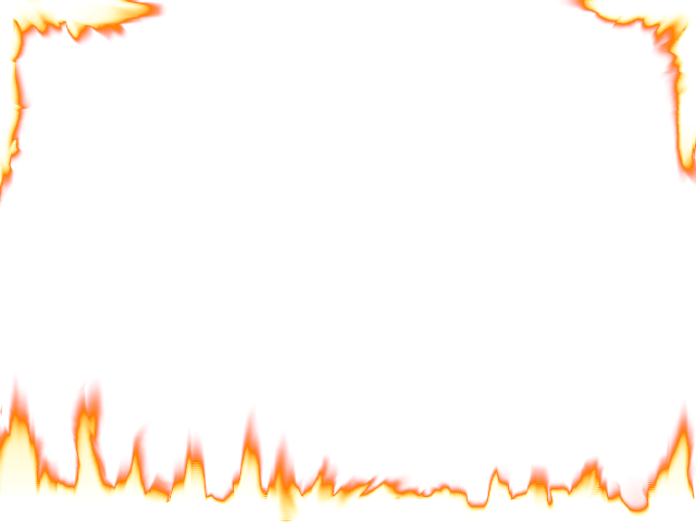 Flame clipart by dave. Fire border png