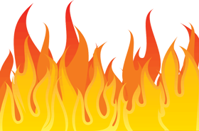 Png images flame icon. Clipart fire