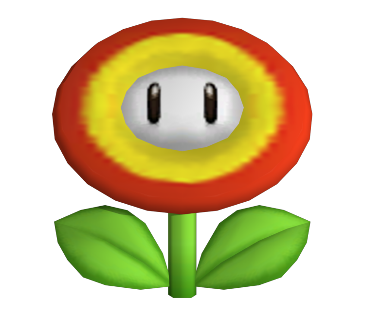 Fire flower png.  mario for free