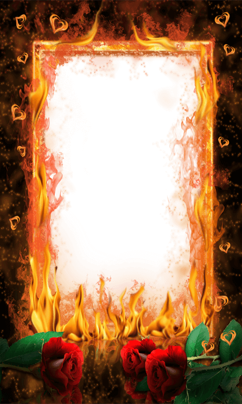 Fire frame png. Free photo apk download