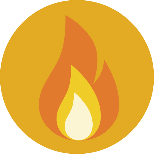 Flame free nature icons. Fire icon png