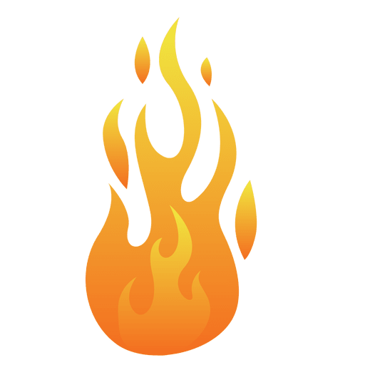 Fire vector png. Cartoon flame illustration transparent