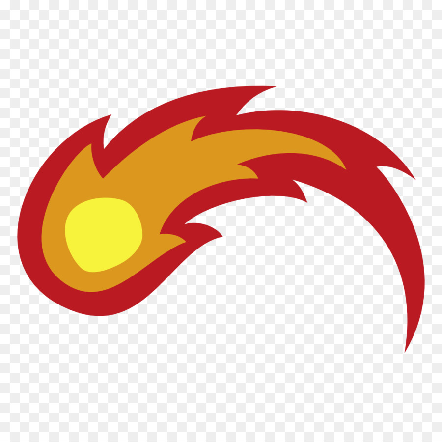Fire ball cutie mark. Fireball clipart