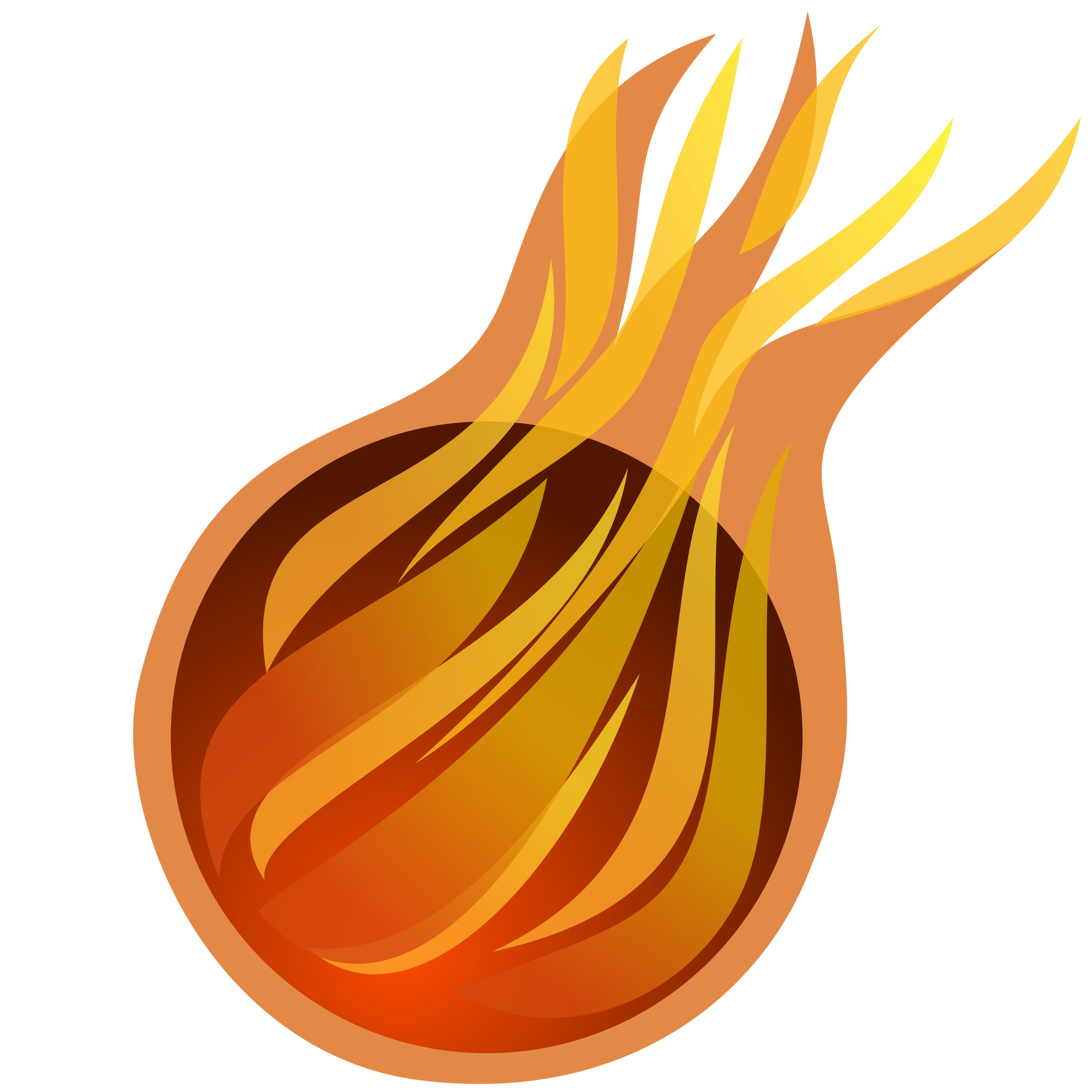 Fireball big image png. Fire clipart simple