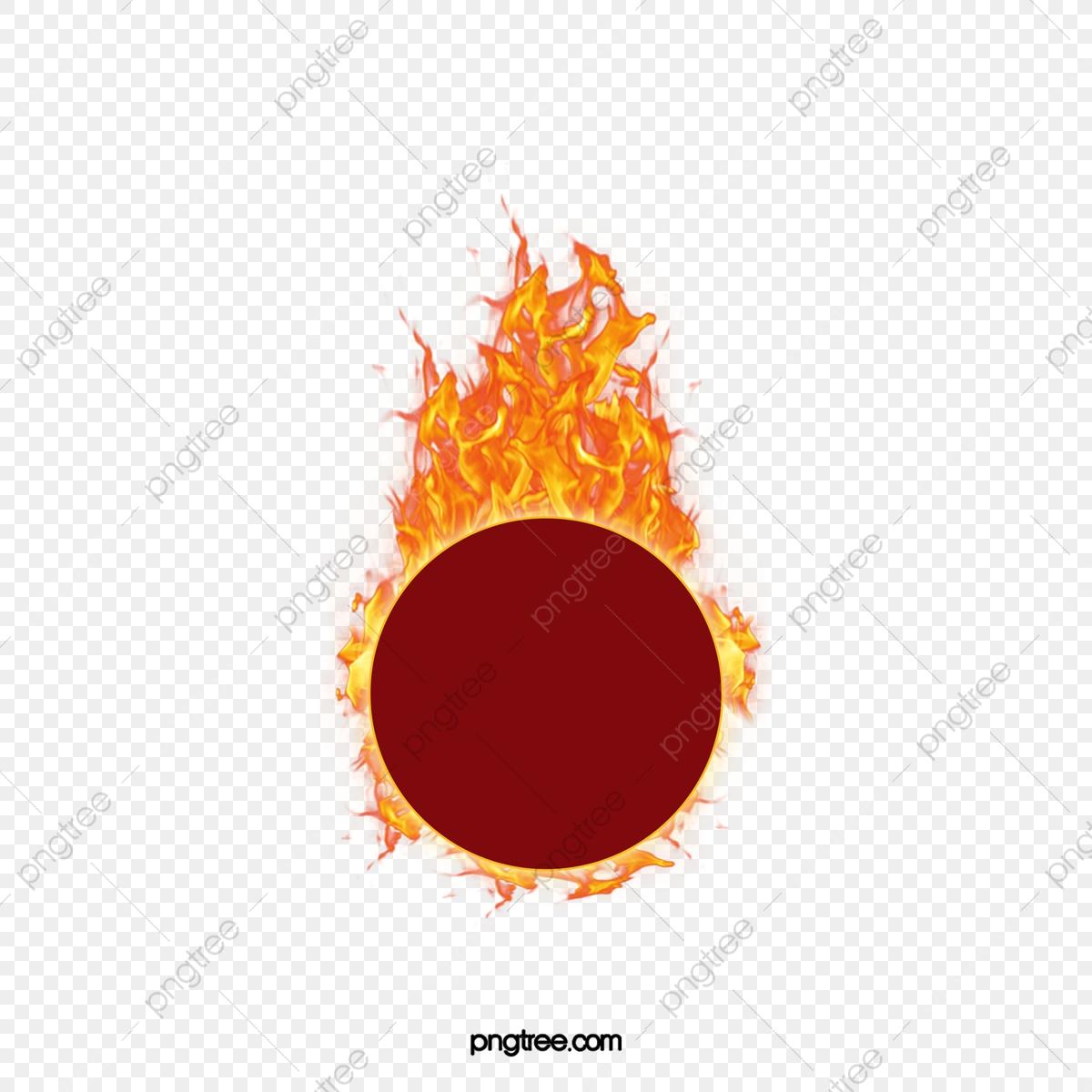Fireball clipart campfire. Logo taobao material fire
