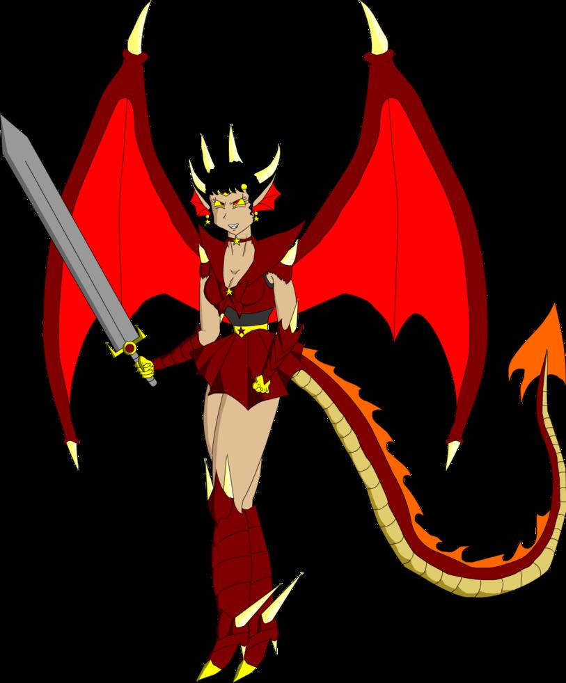 Slayer tiamat by monstarartwork. Fireball clipart dragon fire