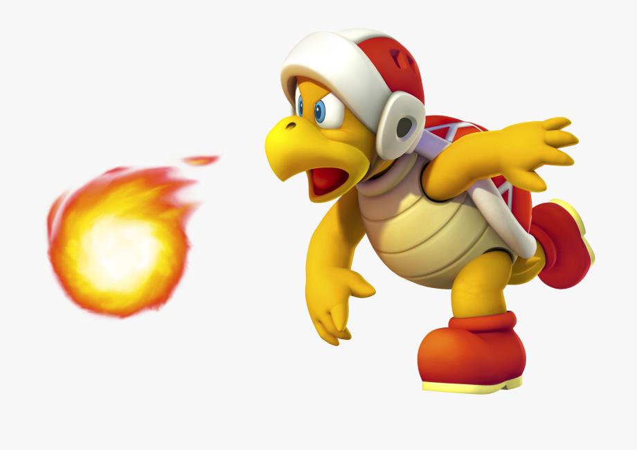 Fireball clipart mario. Fire brigade man super