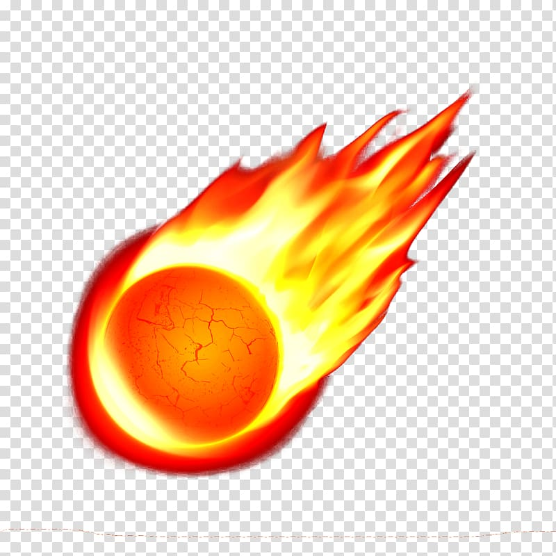 Meteor clipart flaming. Transparent background png hiclipart