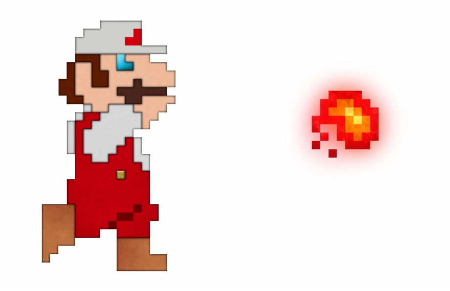 Fireball clipart pixel mario. Graphic transparent library real