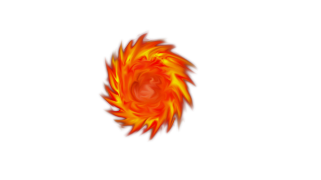 Fireball pixelated