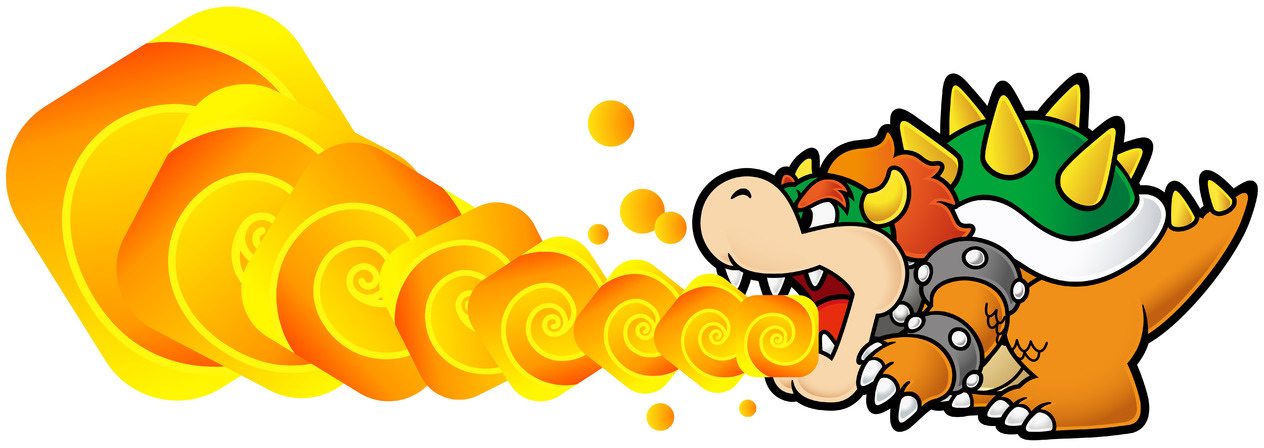 Image spm bowser fire. Fireball clipart super mario