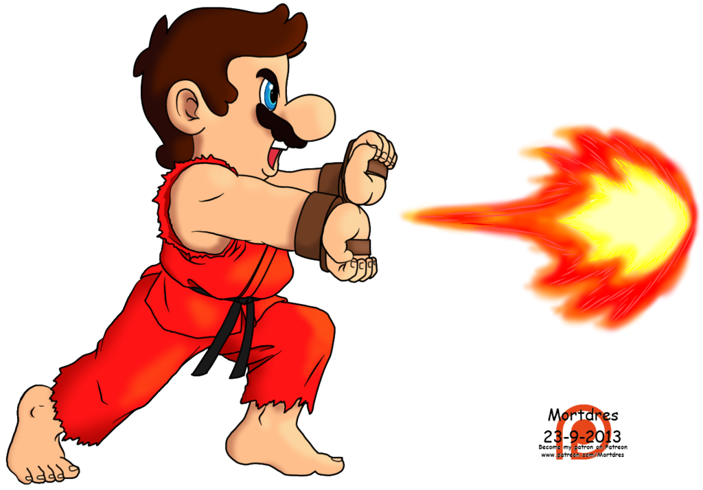 Fireball clipart super mario. S by mortdres on