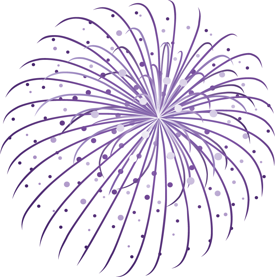 Happy new year png. Firecracker clipart banner