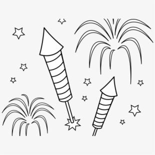 Firecracker clipart bonfire night. Free firework cliparts silhouettes