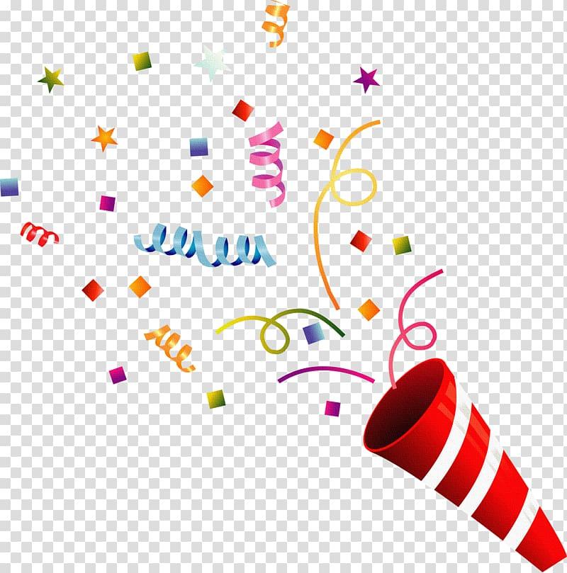 Firework clipart confetti. Multicolored illustration party fireworks