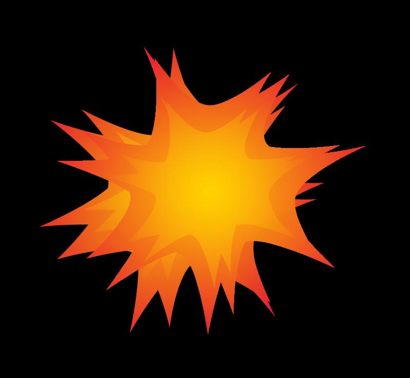 Exploding. Firecracker clipart explosion