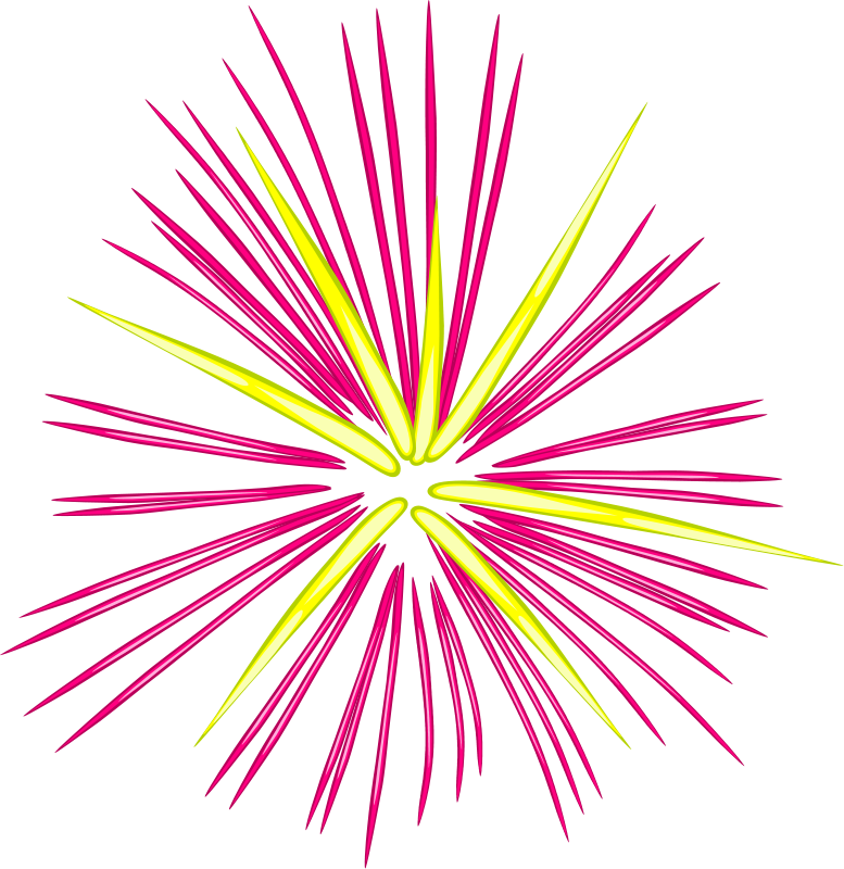 Firecracker clipart firework display. Fireworks free clip art