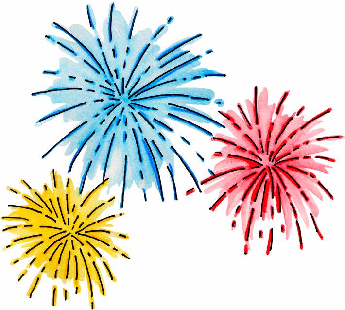 Firecracker clipart news year. Fireworks clip art how