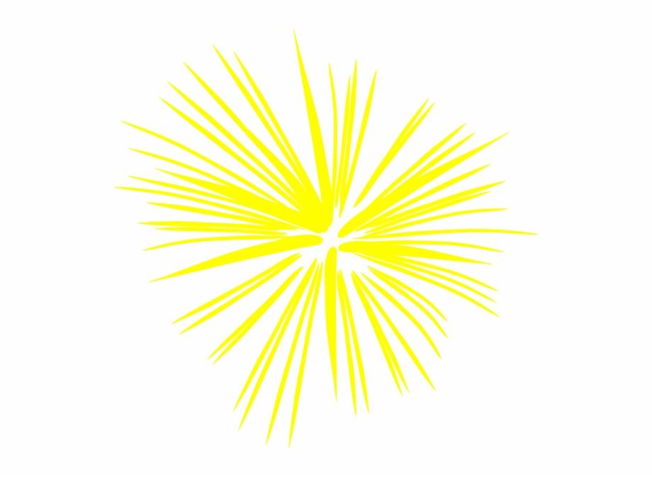 Firework fireworks . Firecracker clipart yellow