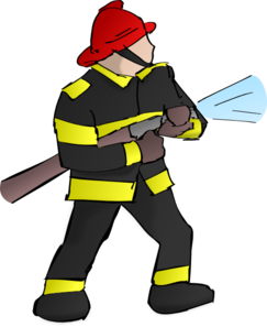 Fire fighter clip art. Fireman clipart
