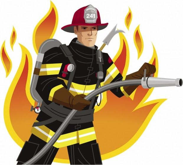 Fireman clipart. Free firefighter pictures clipartix