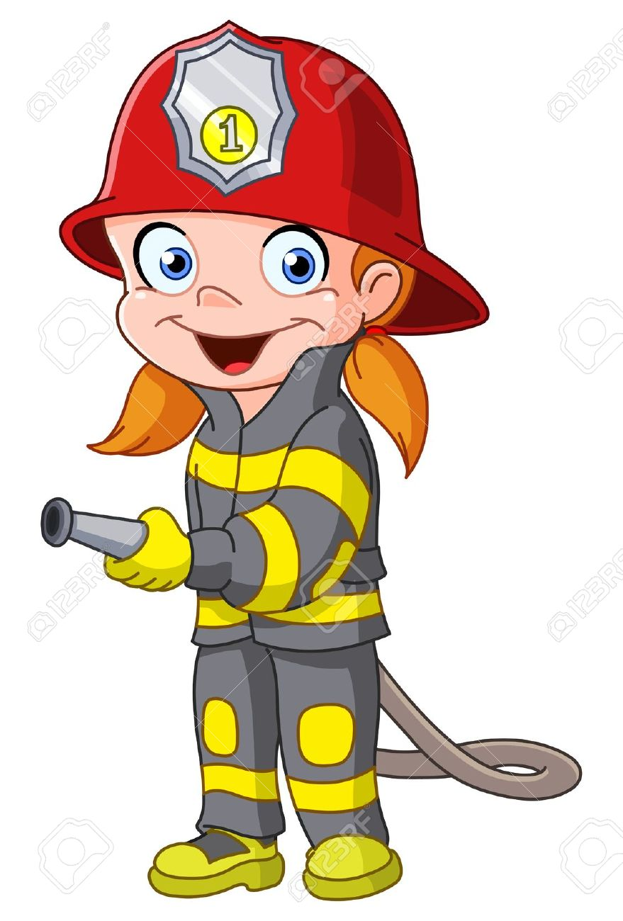 Fireman clipart animated. Firefighters image