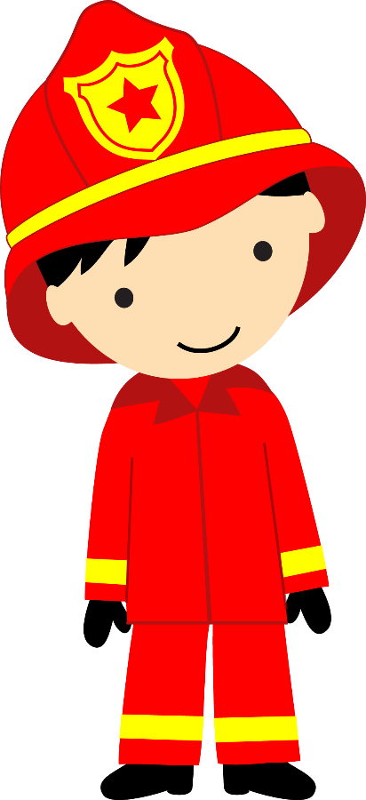 collection of transparent. Fireman clipart month