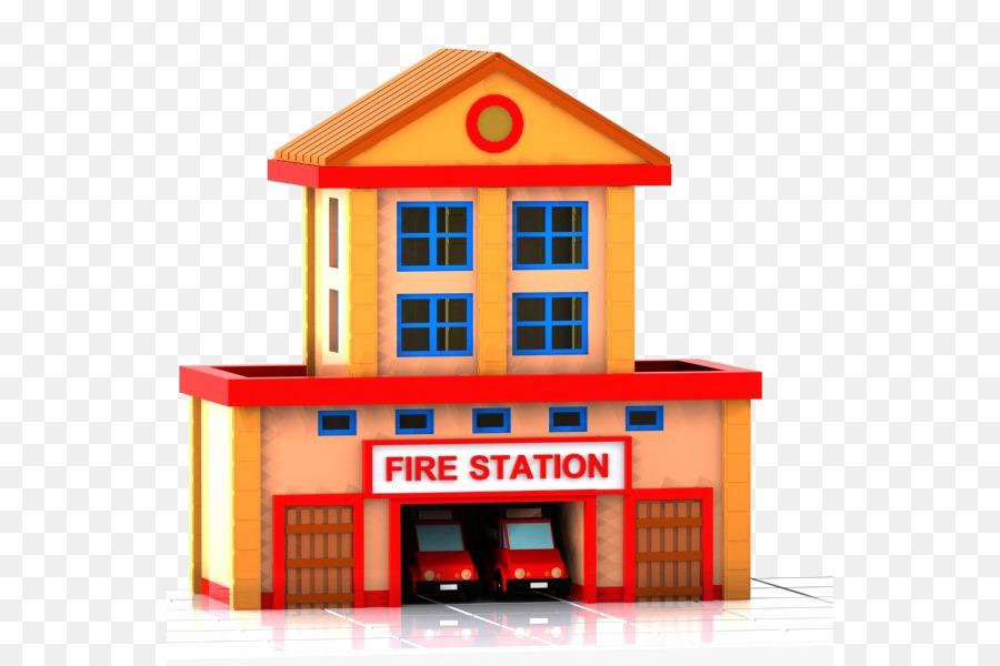 Fireman clipart station. Firefighter fire transparent clip