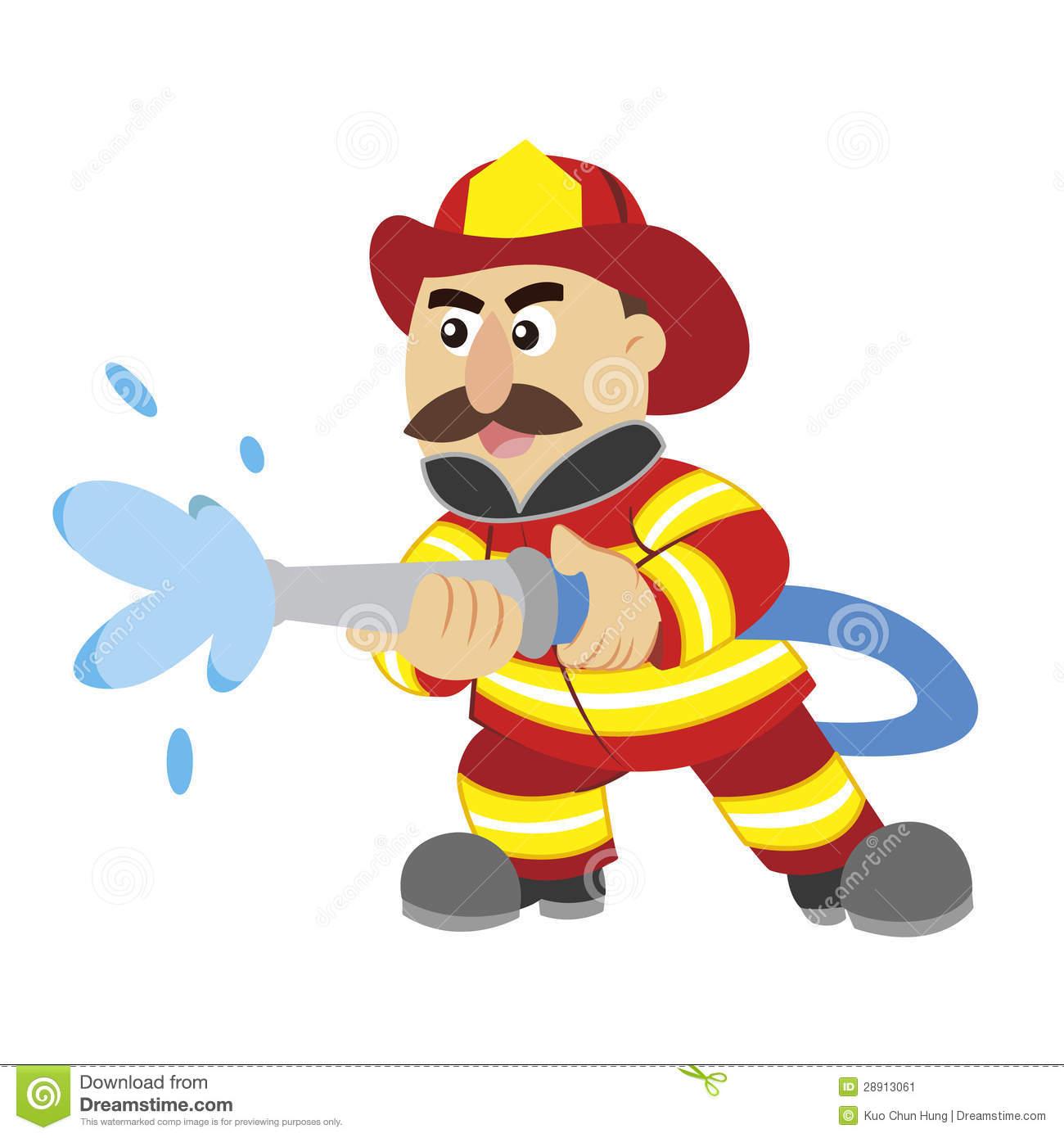 Fireman clipart bumbero. Station