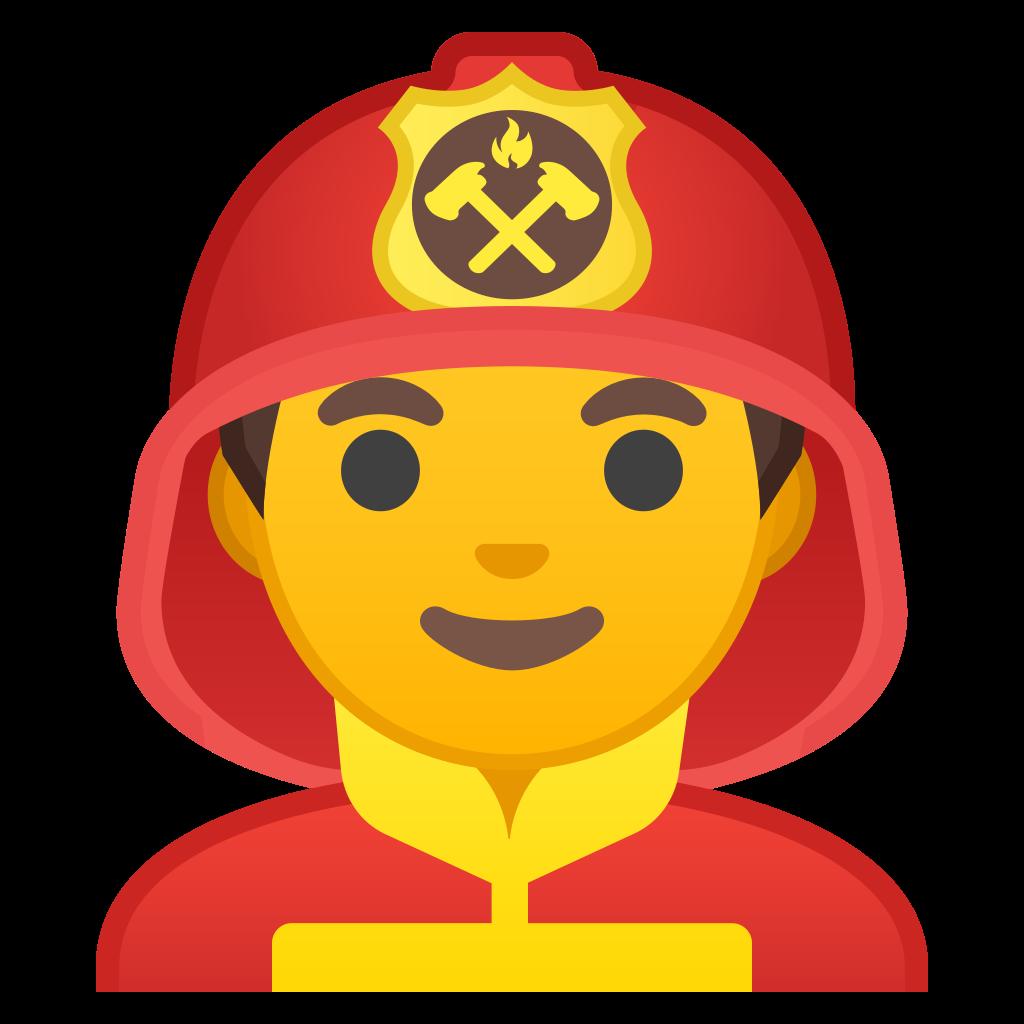 firefighter clipart cap