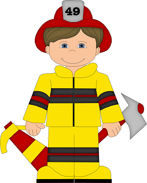 Pin by susan kaelin. Firefighter clipart child