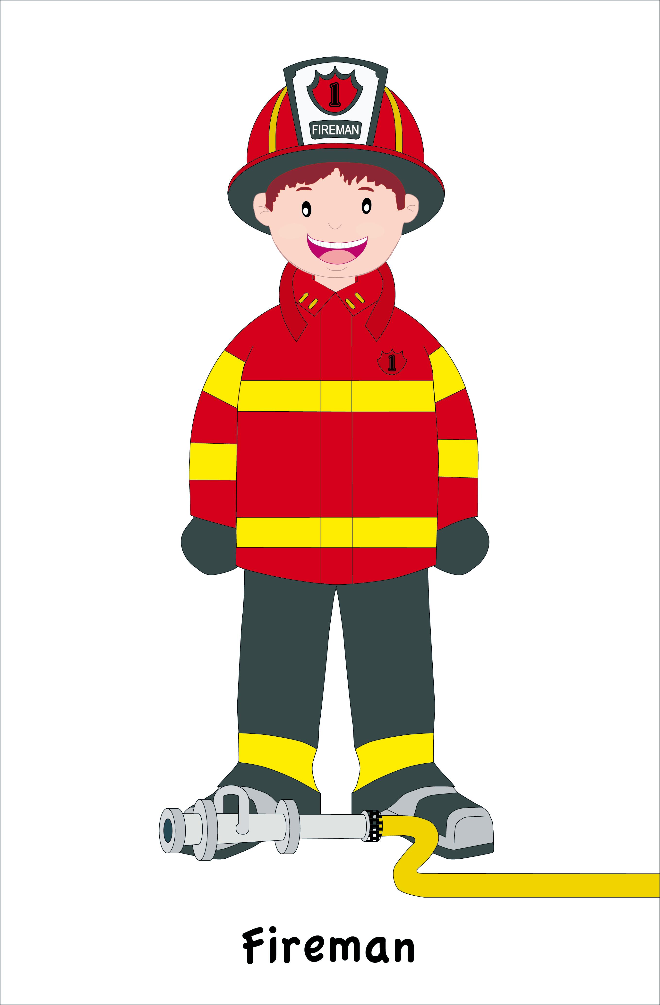 Fireman clipart officer. Community helpers create webquest
