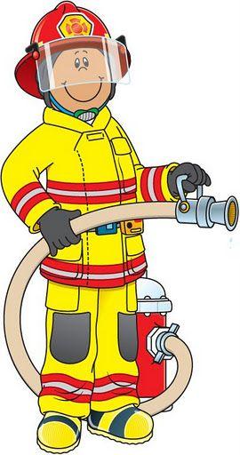 Fireman clipart work clipart. Figuras de los oficios