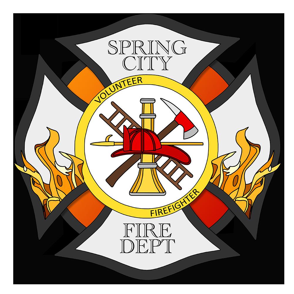 firefighter clipart crest