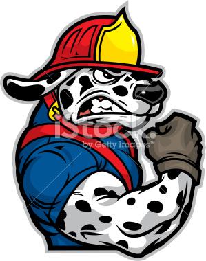 Cartoon panda free images. Firefighter clipart dog