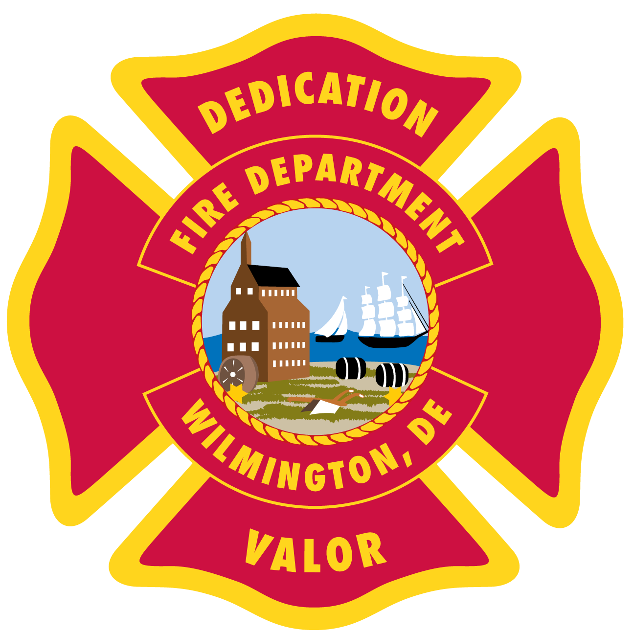 Wilmington department announces staff. Firefighter clipart fire chief