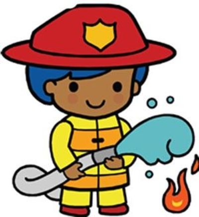 Firefighter clipart fire drill. Prevention free download best