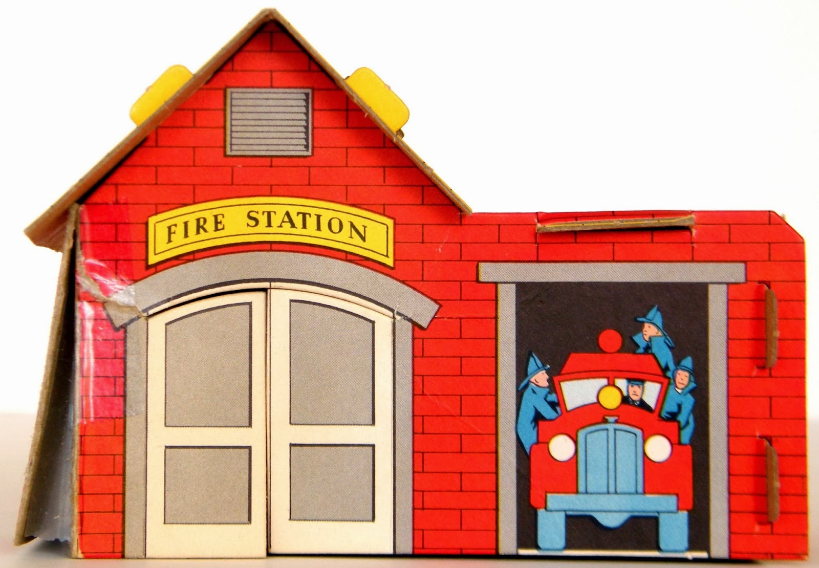 Firefighter clipart fire hall. Free cartoon firehouse download