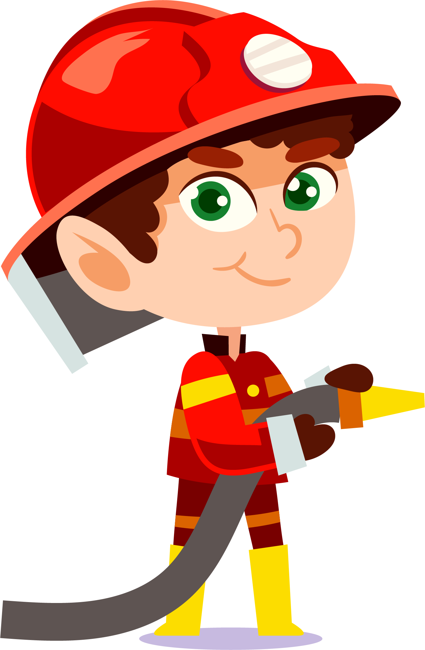 Department firefighting fighter. Firefighter clipart fire protection