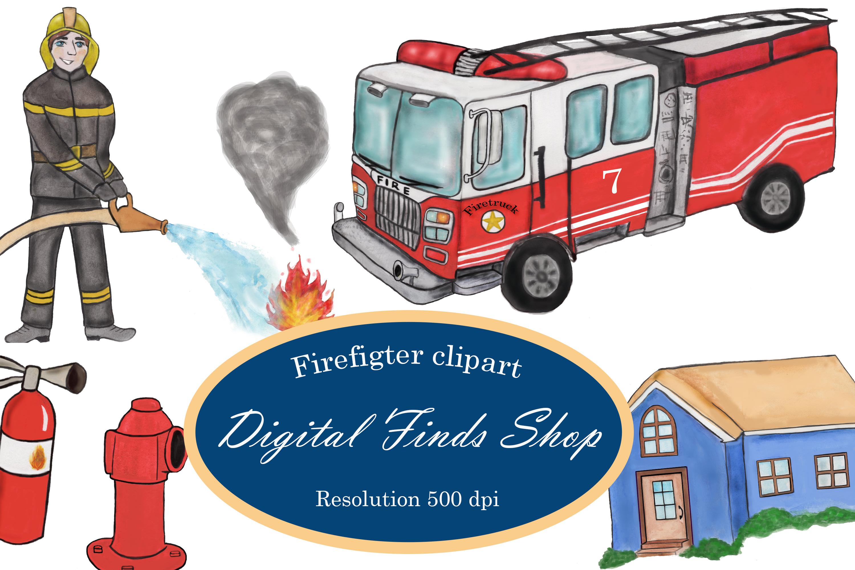 Fireman png . Firefighter clipart fire truck