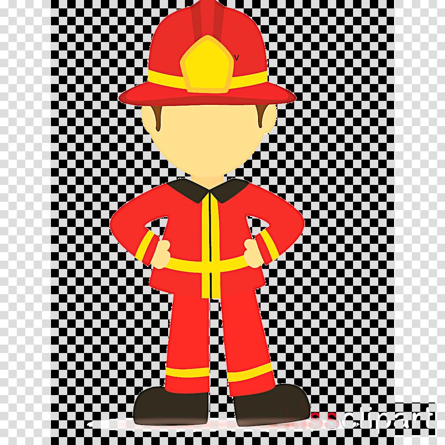 Firefighter clipart firefighter costume. Cartoon hat headgear transparent