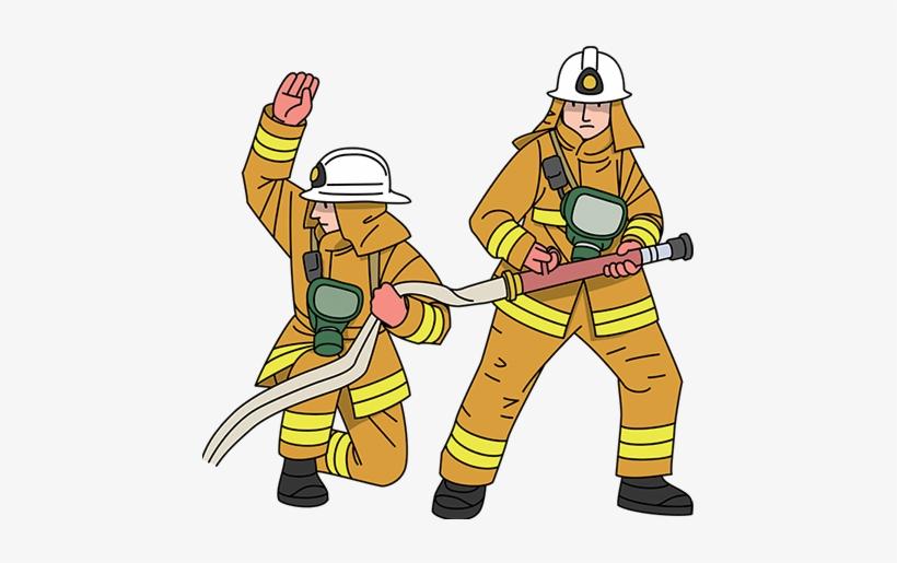 Rescuer clip art . Firefighter clipart firefighter team