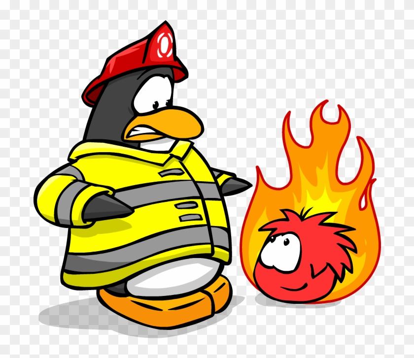 Penguin . Firefighter clipart firefighter team
