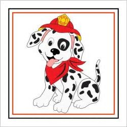 Image result for dalmatian. Firefighter clipart firehouse dog