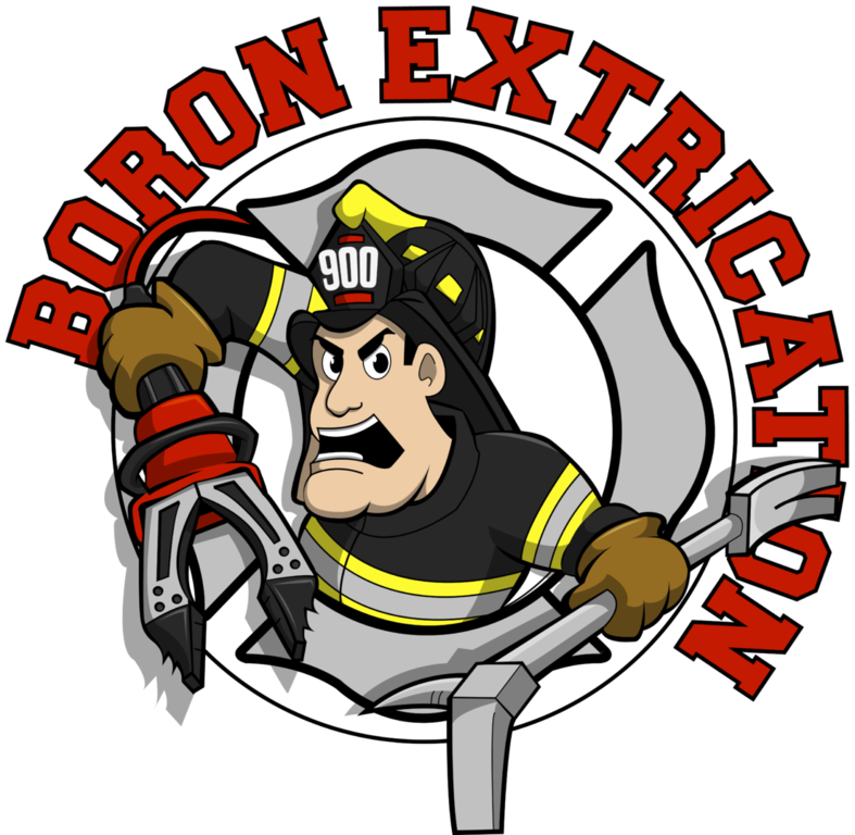 Firefighter clipart firehouse dog. Boron extrication fire department