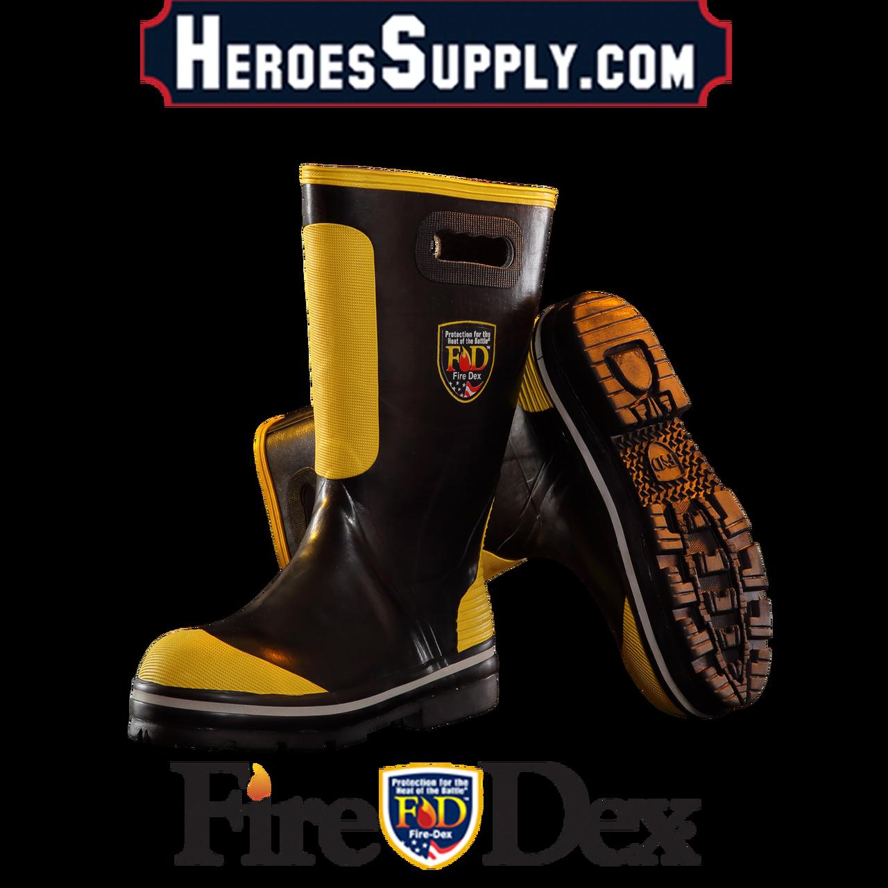 Firefighter clipart glove. Fire dex rubber boots