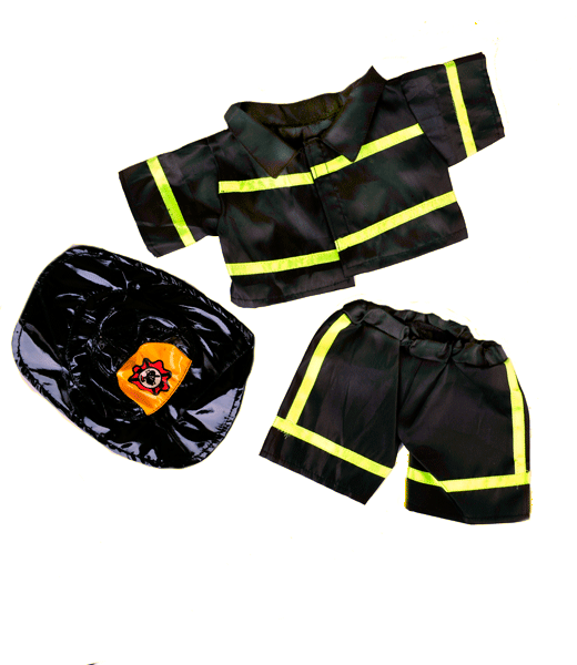 The bearbarn accessories black. Glove clipart firefighter