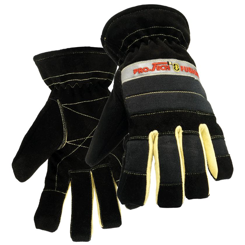 Firefighter clipart glove. Heiman fire protech fusion