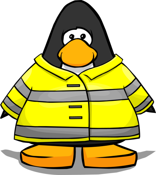 Firefighter clipart jacket. Image from a player